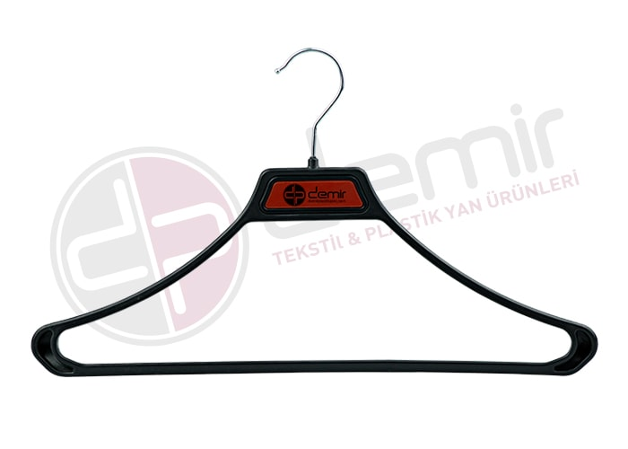 Jacket coat hanger black-silver